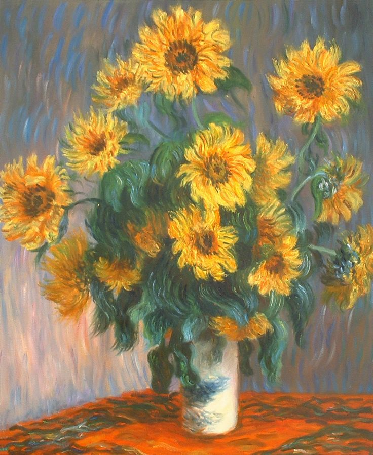 Quot Claude Monet Quot Sunflowers My Favorite Painting Art In