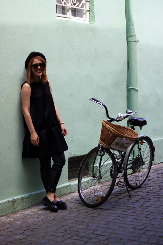 all black everything bicycle
