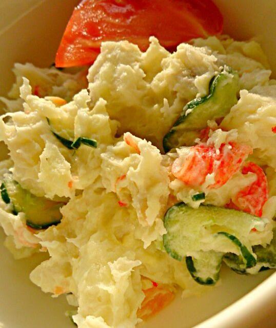 子ども達の反応が楽しみのような、怖いような(笑) 里芋で☆ポテトサラダ?のアイデア