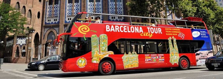 Book a Barcelona hop on hop off bus online to discover Barcelona your way.  low prices at Hop-On, Hop-Off Bus tours