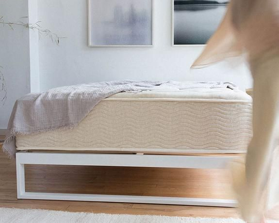 The Mattress Thoughtfully Crafted Keetsa Bed Frame Steel Bed