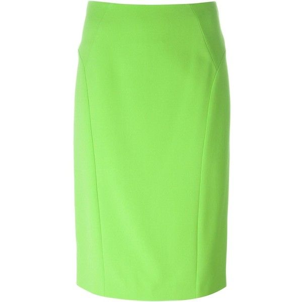 best 25 green pencil skirts ideas on less