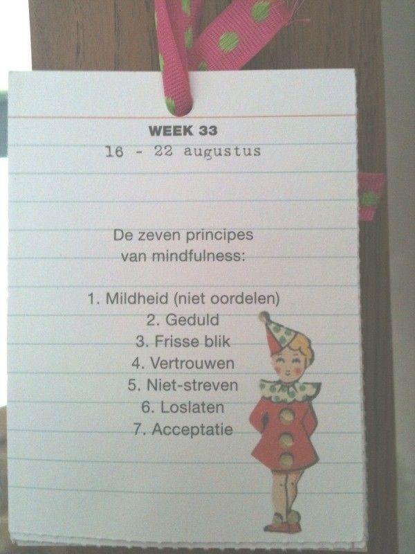 vertrouwen: Agenda, Een Mindfulnesskalend, A New, For Me, On My, Mijn Slaapkam, For A, Slaapkam Heb, I