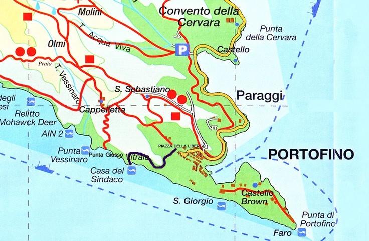 Randonnée en Ligurie pour atteindre un jolie crique du Parc de Portofino
