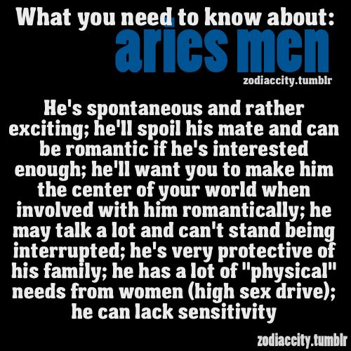 What Aries Man Wants In A Woman