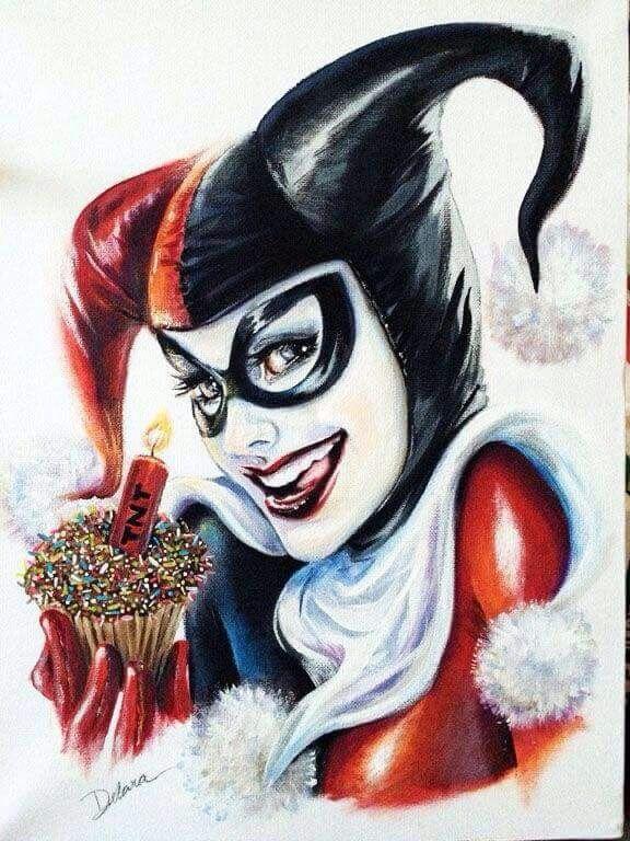 Batman Joker Card Tattoo Happy birthday Harley!...