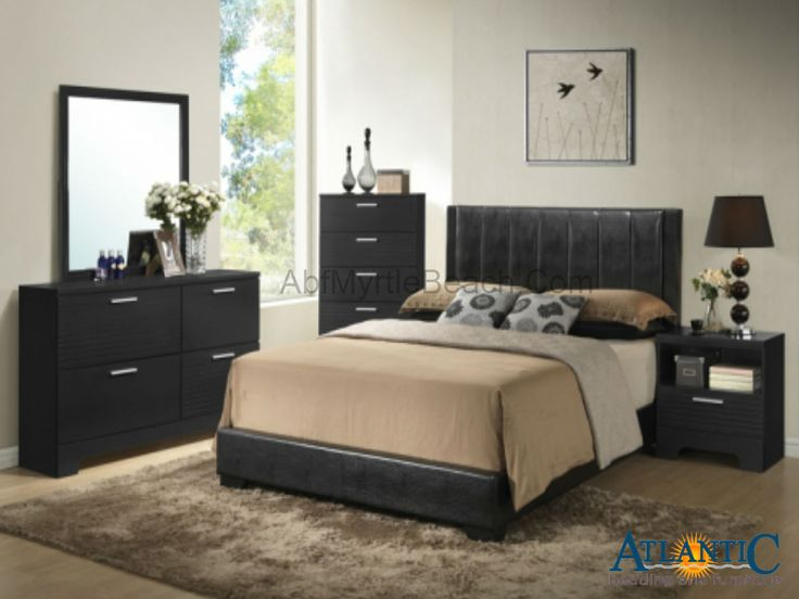 moderne schlafzimmer sets moderne schlafzimmermbel kopf und futeil kopfteile brushed metal the minimalist bonded leather black wood the bold - Schlafzimmer Set Modern