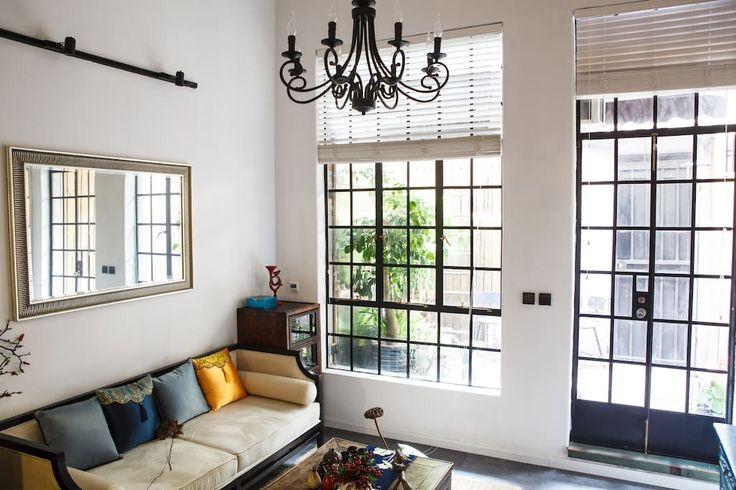 【华章】法租界独门花园Loft古典新中式洋楼@FFC - Apartments for Rent in Shanghai