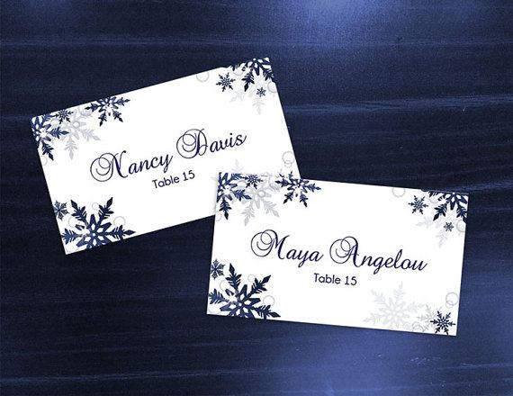 microsoft office place cards template
