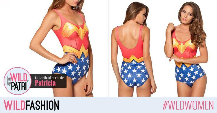 Fii o Wonder Woman vara aceasta! Ai purta acest costum de baie la plaja?
