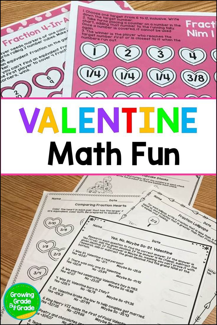 Invigorate Your 4th And 5th Grade Math Lesson Plans With These No Prep Or Low Prep Valentine Themed Valentine Math Activities Math Valentines Math Lesson Plans [ 1104 x 736 Pixel ]