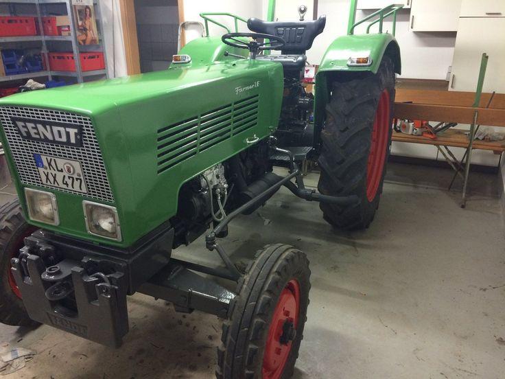 Fendt Farmer 2 e Schlepper Traktor Oldtimer Restauriert   eBay