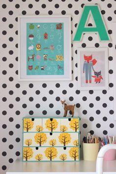 pfefferminzgruen: Ikea Hack + Einblick ins neu renovierte Kinderzimm...