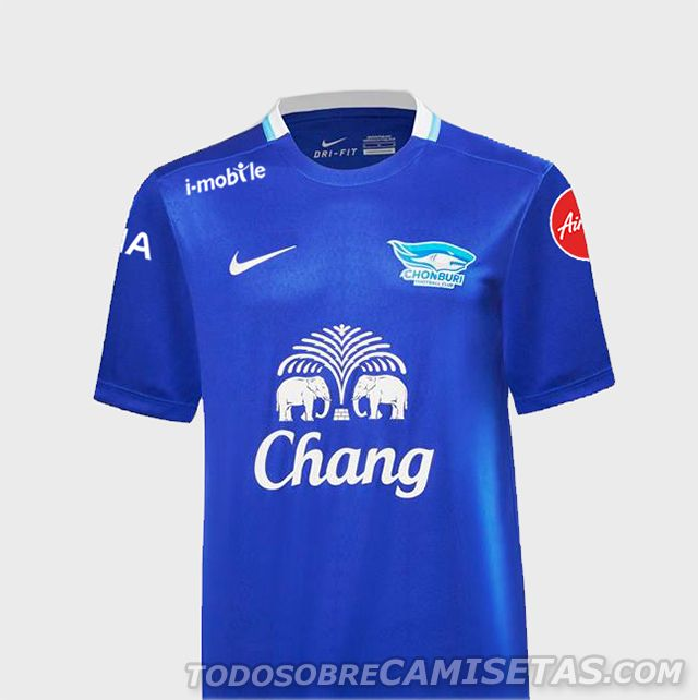 Chonburi FC Nike Kits 2016