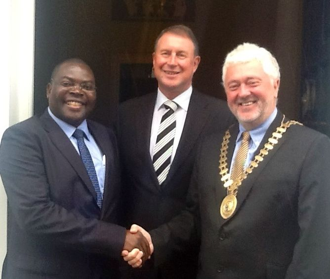 CPA Ireland President, Joe Aherne and CEO Eamonn Siggins welcome Mr Mario Vincente Sitoe , President, Order of Professional Accountants and Auditors of Mozambique, on his first visit to CPA Ireland.