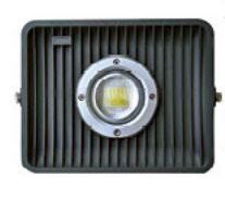 Reflector LED COB Tipo Flood de 50 Watts Para Exterior