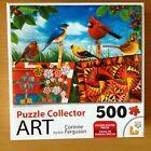 "Puzzle Collector ART 500 Pc. Puzzle ""Birds & Quilt…"