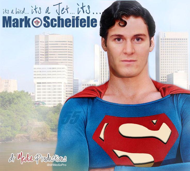 Mark Scheifele #Superman