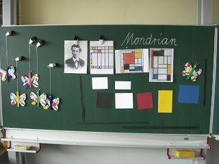 wie berichtet will ich nach den Osterferien einen kleinen Mondrian-Schmetterling…