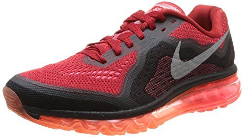new style b4232 e19a5 ... 90 Ultra Essential noire et blanche vue extérieure . Nike Air Max 2014,  Chaussures de running homme - Multicolore (Gym RedRflct ...