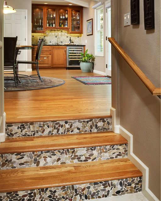 58 Cool Ideas For Decorating Stair Risers: 17 Best Images About STAIR RISER