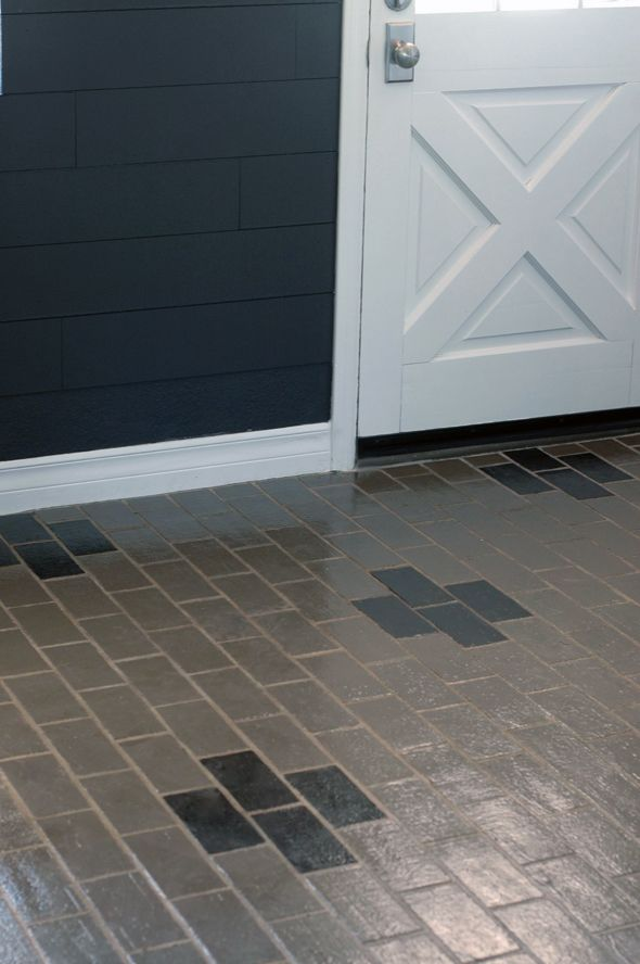 Brick Floor Paint : Best images about brick floor on pinterest wine