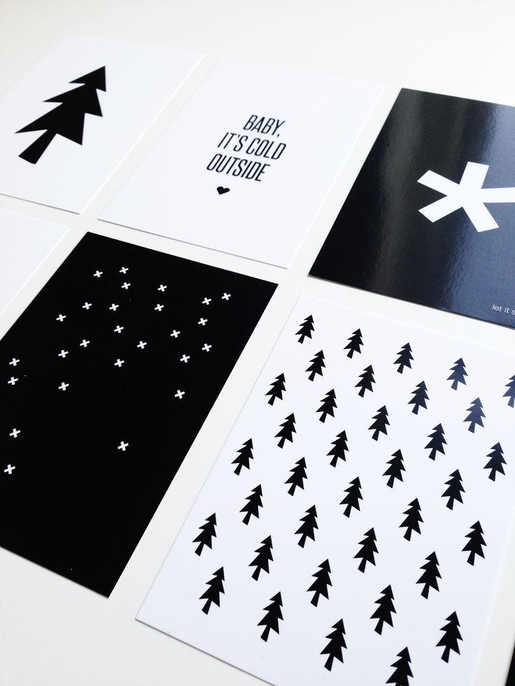 Christmas just around the corner :-) Set of 10 black & white christmas cards soon available in the shop.