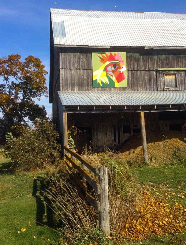 The Rooster   Ontario Barn Quilt Trails