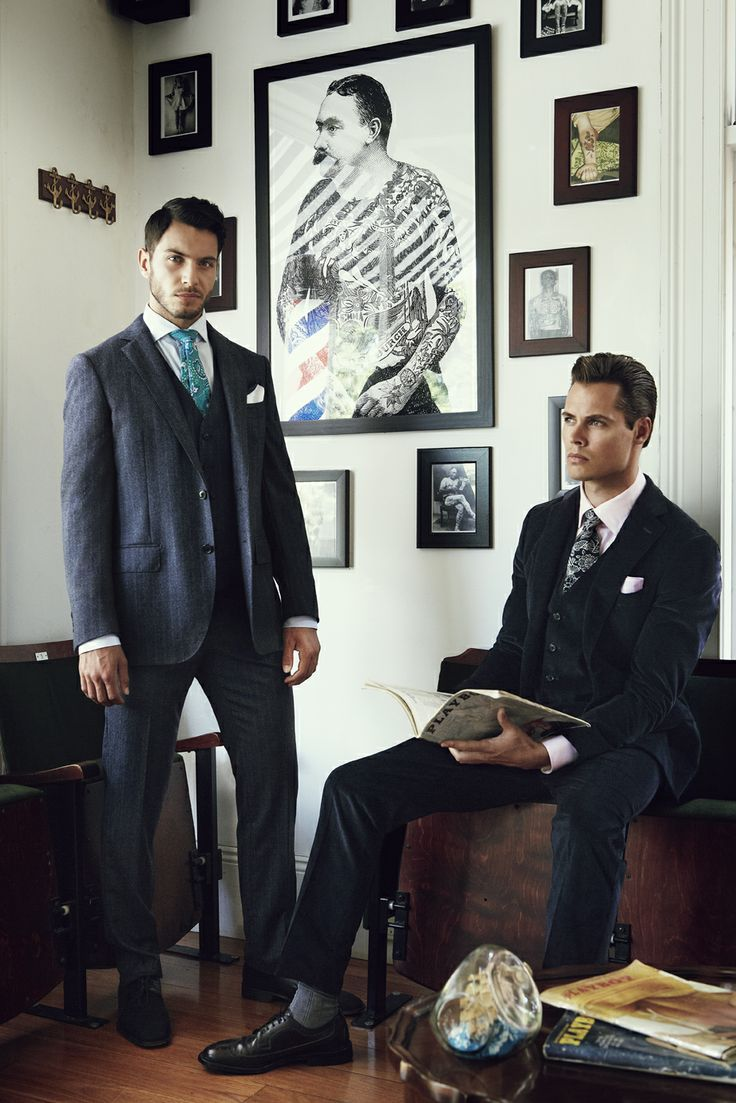 Styled by Parish Stapleton and photographed by Marty Lochmann. #fashion #styling #suiting #handsome