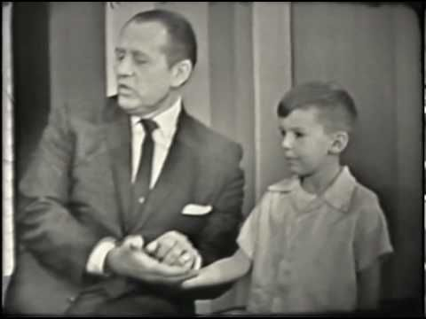 Larry Short on Art Linkletter TV show - 1963 Notice a young Carl Reiner, Jane Meadows, and Sebastian Cabot