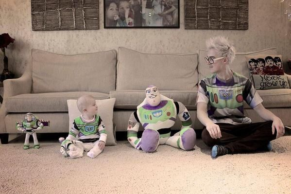 this is too much. The evolution of Buzz.