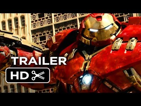 ▶ Avengers 2: Age of Ultron Official Trailer #1 (2015) - Avengers Sequel Movie HD - YouTube