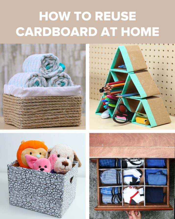 Got Extra Cardboard Lying Around? Put It To Good Use With These Four DIY Projects