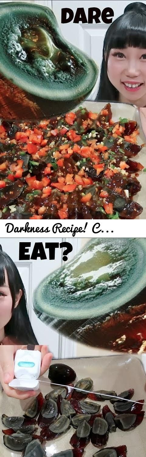 "Darkness Recipe! Cook&Eat 100 Years Old Smelly Duck Eggs (Pidan)Challenge! Husband ""I'd Eat Bugs""... Tags: yumi king, yummy king, Cook&Eat 100 Years Old Smelly Duck Eggs Challenge!, asian food, weird chinese food, chinese food, weird food, weird asian food, duck egg, duck eggs, 100 year old egg, black egg recipe, food challenge, yummy food, cooking channel, mukbang channel, eatting show, how to, how to"