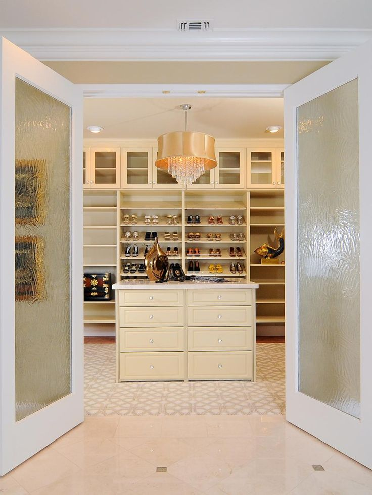 Interesting With Glamorous Walk In Closets