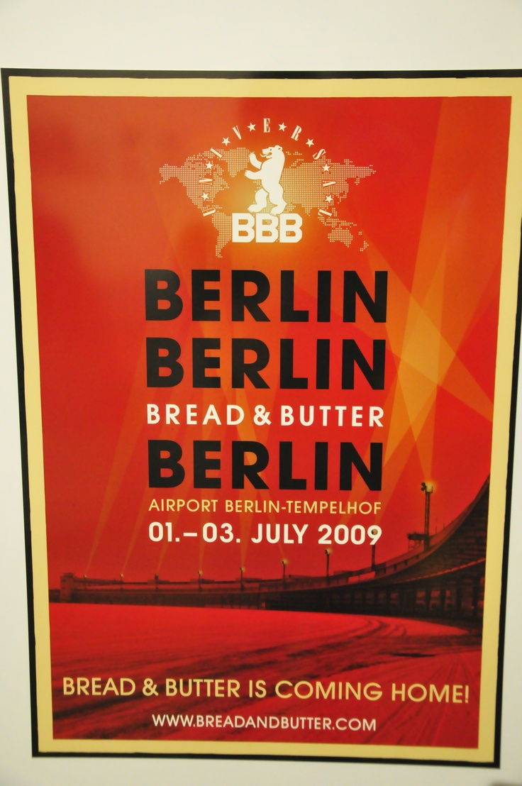 Bread and butter. Airport Berlin-Templehof