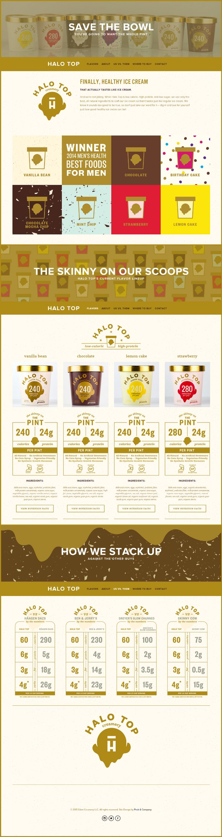 Halo Top. With healthy comes tasty.