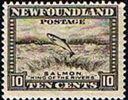 Newfoundland 1941 SG 283 Salmon Fine Mint Scott 260 Other North American and British Commonwealth Stamps HERE!