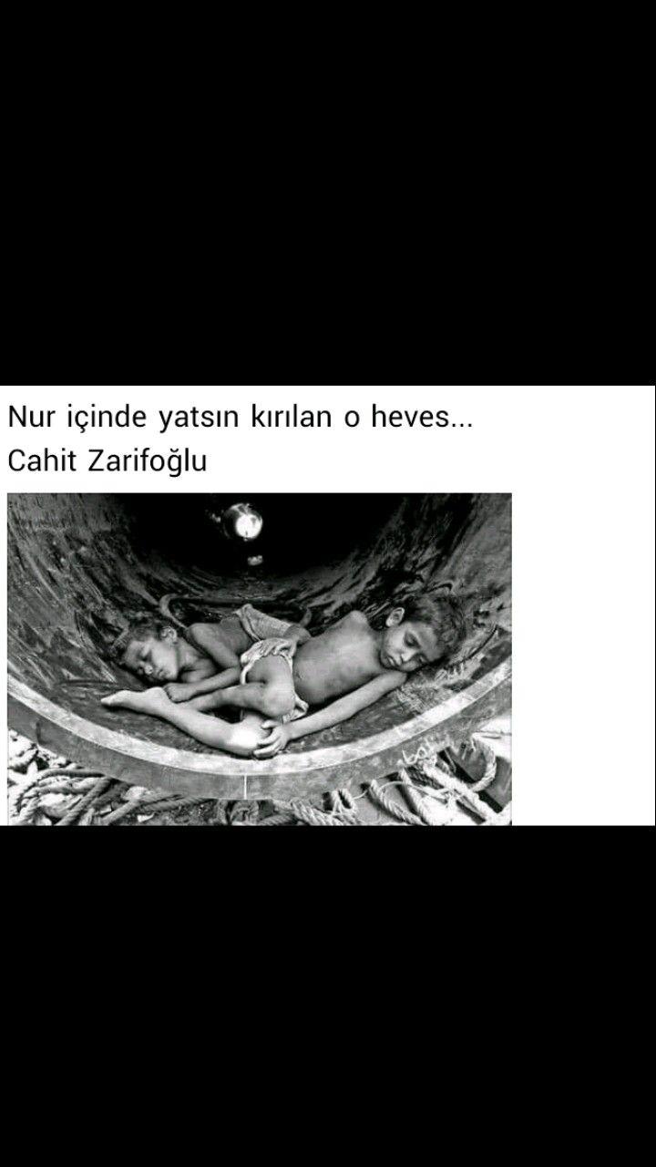 Nur içinde yatsın kırılan o heves Cahit Zarifoğlu
