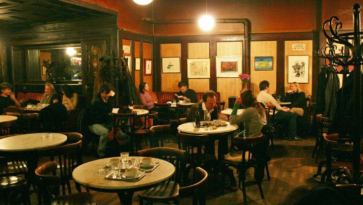 AFAR.com Highlight: Enjoy true Vienna dining at Café Hawelka