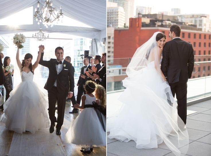 Malaparte Terrace wedding ceremony