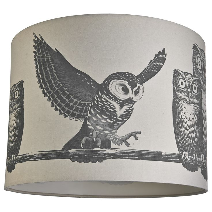 Owl lamp shade