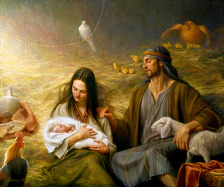 Famous Religious Christmas Paintings paintings - jesus /yeshua on ...