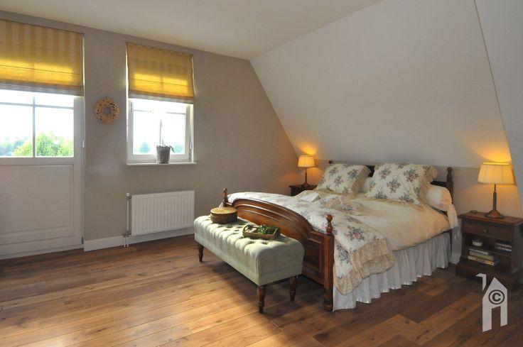 Slaapkamer in een Landelijke woning