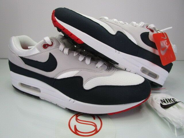 Nike Air Max 1 Anniversary WHITE OBSIDIAN 11.5 #fashion