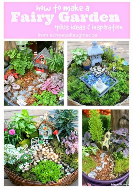 How To Make A Fairy Garden & 4 Other Fabulous Outdoor ...