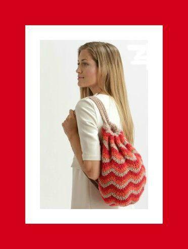 Indispensable pour vos vacances : un sac à dos au crochet