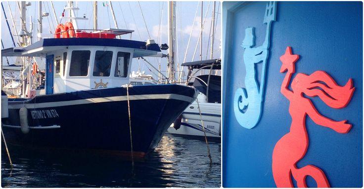 Our Boat Nettuno 2° in the harbor of Vibo Marina
