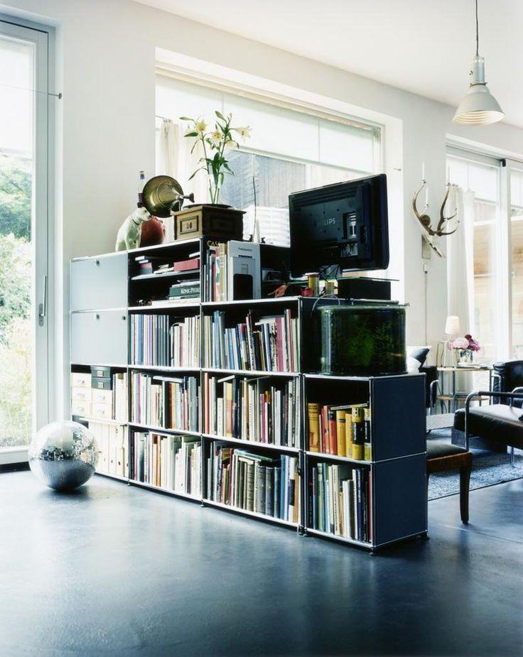 Die Besten 25+ Bücherregal Raumteiler Ideen Auf Pinterest | Ein