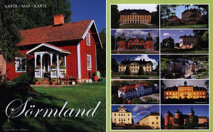 https://flic.kr/p/JV434n | Sörmland Karta Map Karte; 2015, Södermanland, Sweden